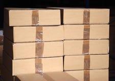 Pilas de los rectángulos Imagenes de archivo