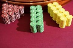 Pilas de microprocesadores Foto de archivo
