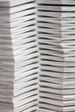 Pilas de papel compaginado imagen de archivo libre de regalías