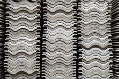 Pilas de Roof#1 acanalado Imagen de archivo