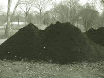 Pilas de tierra Imagenes de archivo