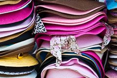 Pilas de verano colorido Fotografía de archivo