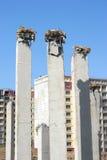 Pilas del edificio Imagen de archivo libre de regalías