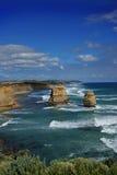 Pilas naturales de la roca imagenes de archivo