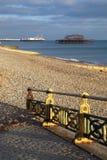 Pilastro ad ovest Brighton Inghilterra Fotografia Stock Libera da Diritti