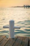 Pilastro al tramonto Fotografie Stock