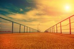 Pilastro al tramonto fotografie stock libere da diritti