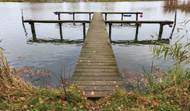 Pilastro in autunno Fotografie Stock