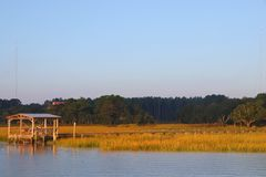 Pilastro in Carolina del Sud fotografie stock libere da diritti