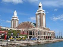 Pilastro del blu marino, Chicago Immagini Stock