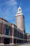Pilastro del blu marino in Chicago immagine stock libera da diritti