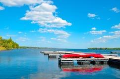 Pilastro del lago Immagini Stock