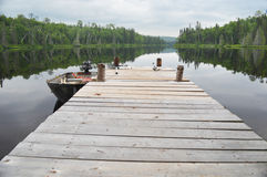 Pilastro del lago Immagine Stock