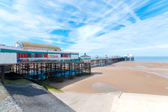 Pilastro del nord a Blackpool fotografie stock libere da diritti
