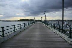 Pilastro del porto Fotografia Stock Libera da Diritti