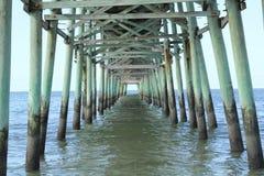 Pilastro dell'isola della quercia Fotografie Stock Libere da Diritti