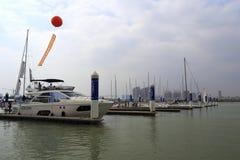 Pilastro dell'yacht Fotografie Stock Libere da Diritti