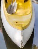 Pilastro della canoa in lago del parco Fotografia Stock Libera da Diritti