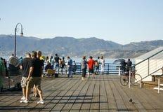 Pilastro della Santa Monica Fotografia Stock Libera da Diritti