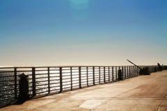 Pilastro della spiaggia Immagini Stock