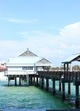 Pilastro 60 della spiaggia di Clearwater Fotografie Stock