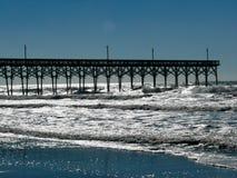 Pilastro della spiaggia di Holden fotografia stock