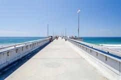 Pilastro della spiaggia di Venezia in California Immagini Stock