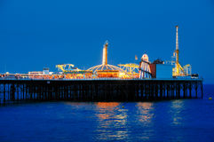 Pilastro di Brighton, Inghilterra fotografia stock libera da diritti