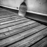 Pilastro di legno Fotografia Stock Libera da Diritti