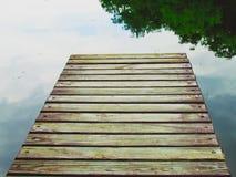Pilastro di legno Fotografie Stock Libere da Diritti