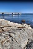 Pilastro di pesca Fotografie Stock Libere da Diritti