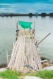 Pilastro di pesca Immagini Stock
