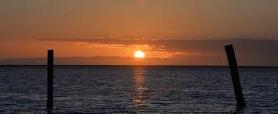 Pilastro di tramonto Fotografia Stock