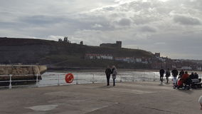 Pilastro di Whitby Immagine Stock