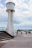 Pilastro e faro di Littlehampton immagini stock libere da diritti