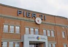 Pilastro 21 Halifax Fotografie Stock