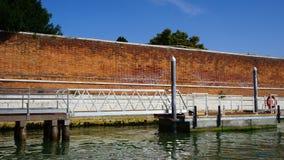 Pilastro per il trasporto della barca immagini stock