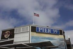 Pilastro 39 a San Francisco Fotografia Stock
