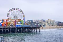 Pilastro Santa Monica immagini stock libere da diritti