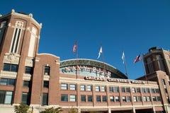 Pilastro storico della marina in Chicago, Illinois Immagine Stock