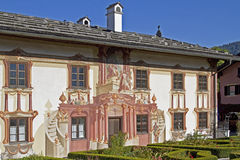 Pilate house in Oberammergau Stock Images