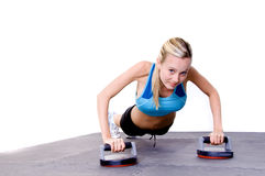 Pilate's Woman In Gym Stock Images