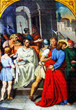 Pilate washed his hands Royalty Free Stock Image