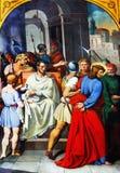 Pilate waste zijn handen royalty-vrije stock afbeelding