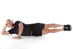 pilates θέση Στοκ φωτογραφία με δικαίωμα ελεύθερης χρήσης