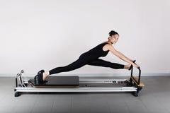 pilates гимнастики Стоковые Фото