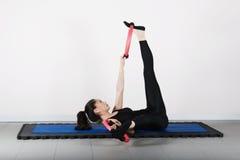 pilates гимнастики Стоковое Изображение RF