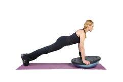 pilates инструктора женщины подходящие молодые Стоковое фото RF