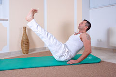 Pilates Royalty Free Stock Photography