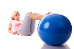 Pilates Immagine Stock
